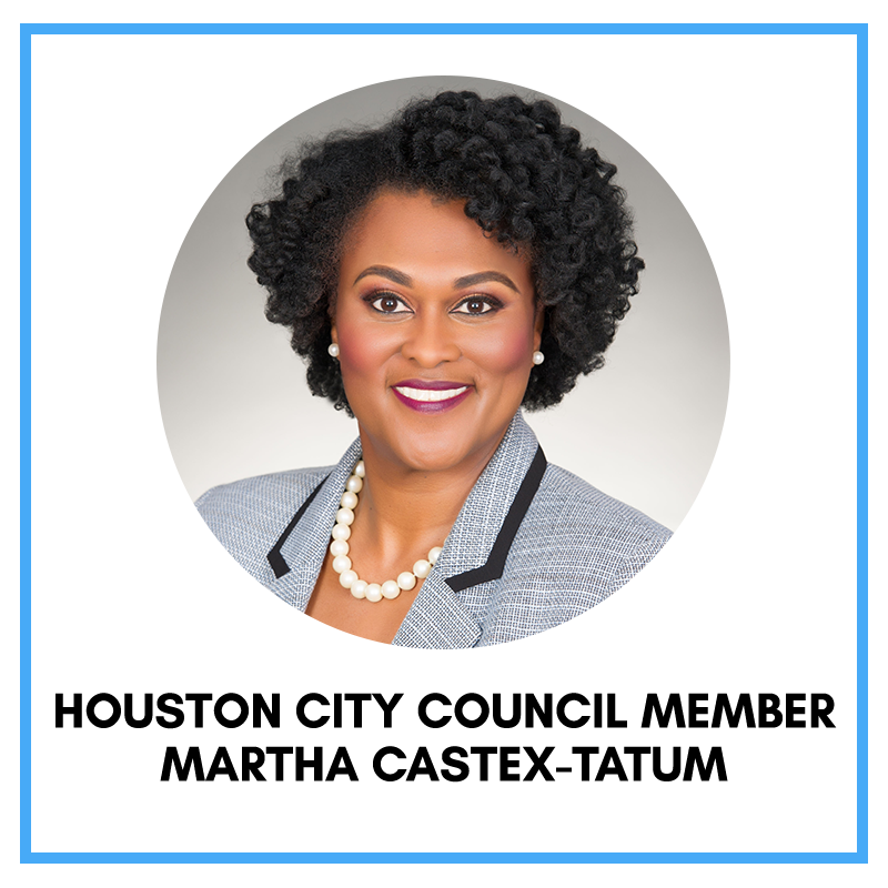 Houston City Council Member Martha Castex-Tatum
